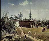 Courtyard in Moscow, 1878