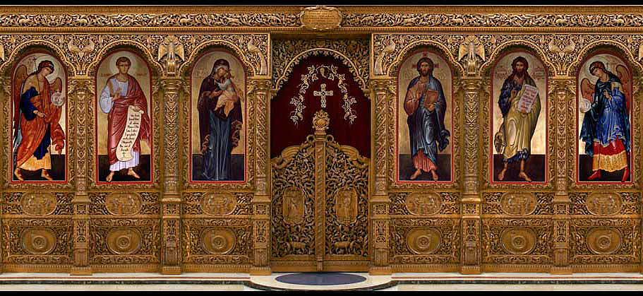 Image Map of Iconostasis Set 2