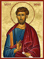 Saint James the son of Alpheus